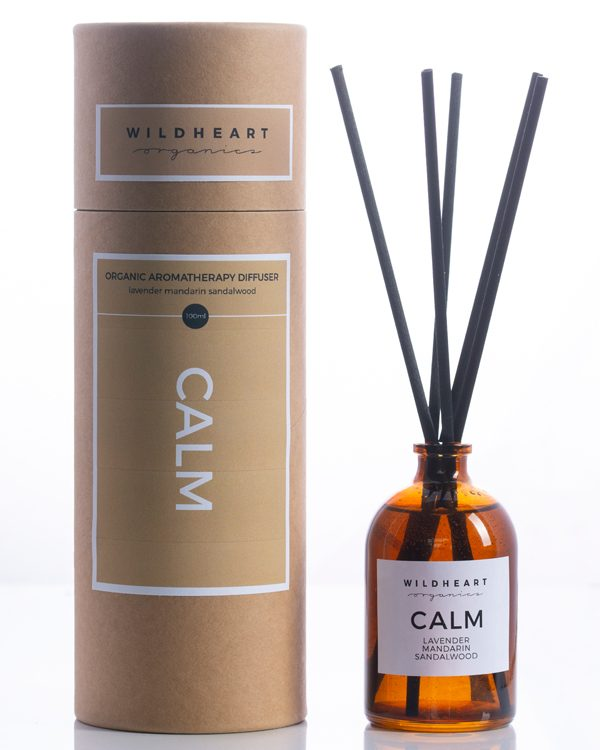 Apothecary Calm Room Diffuser by Wildheart Organics for AUTHOR's luxury collections of unique British-made gifts