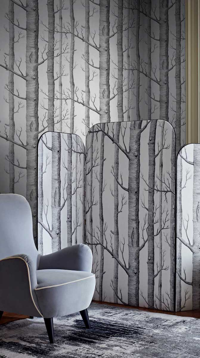 Woods Wallpaper by Cole & Son for AUTHOR's collections of luxury British-made home decor