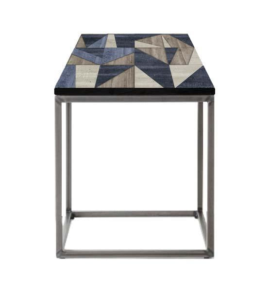 Concrete Geometric Side Table by Cappa E Spada for AUTHOR's collection of British-made unique and contemporary side tables