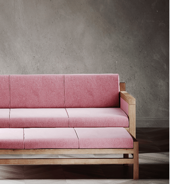 Govan Sofa by David Watson for AUTHOR's collection of luxury British-made furniture