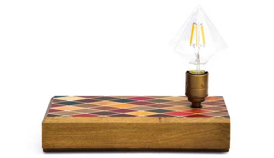 Harlequin Desk Light by Cappa E Spada for AUTHOR's collection of unique and luxury British-made lighting