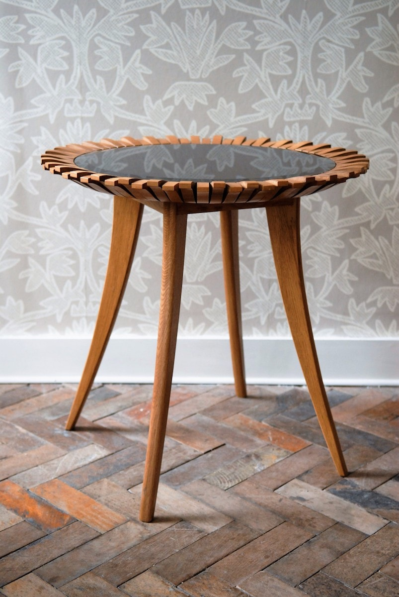 Peggy Side Table by Knowles & Christou for AUTHOR's collection of British-made luxury furniture