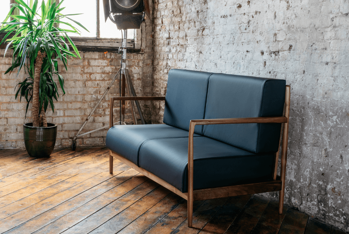 Boambillee Sofa by furniture maker Ben Tcharny for AUTHOR Interiors collections of British-made furniture and interior accessories