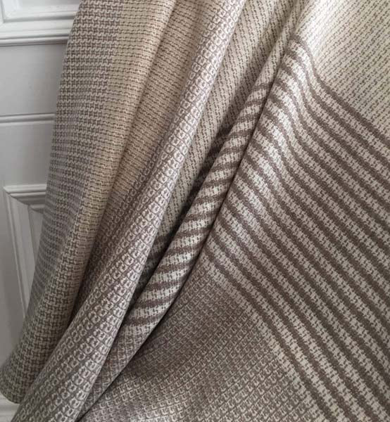 Textures of Scotland Cashmere Throw by AVA INNES for AUTHOR's collection of British-made, luxury throws