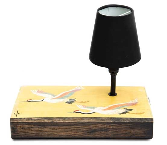 Uccelli Table Lamp by Cappa E Spada for AUTHOR's collection of unique British-made lighting