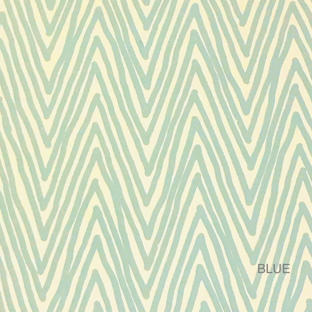 Zig Zag Wallpaper by Knowles & Christou for AUTHOR's range of British-made luxury homeware