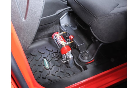 FIRE EXTINGUISHER MOUNT BLACK