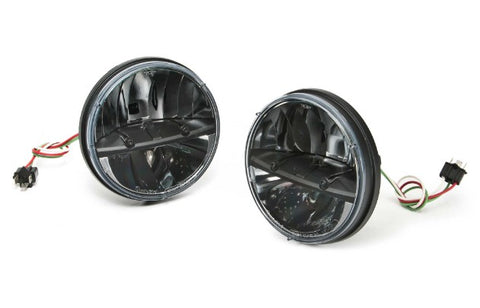 "7"" european led headlight phase 2 (pair)"