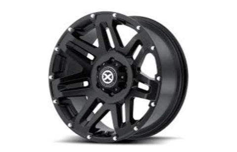 17x9 ATX AX200 Cast Iron Black 5x127 ET18