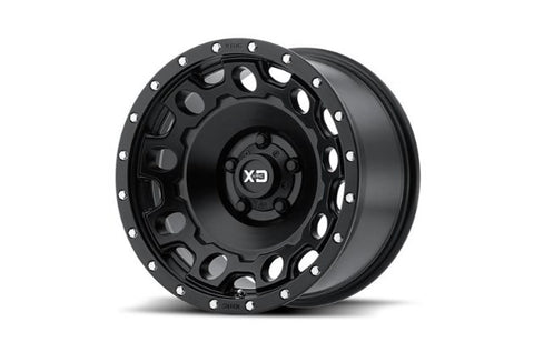 17x9 XD Series Holeshot S/Black 5x127 ET-12