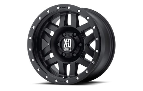 17x9 XD Series Machete Satin Black 5x127 ET-12