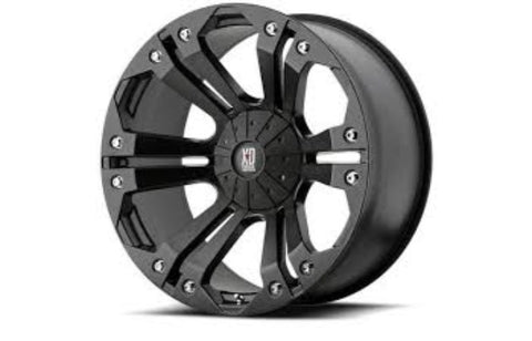 18x9 XD Series Monster Black 5x127 ET18