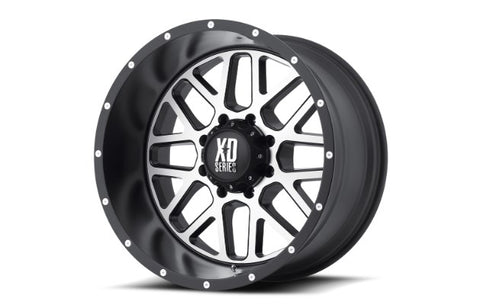 20x10 XD Series Grenade Satin Black Machine Face 5x127 ET-24