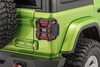 Rugged Ridge 11226.12 Elite Tail Light Guards for 18-21 Jeep Wrangler JL with Factory LED Tail Lights