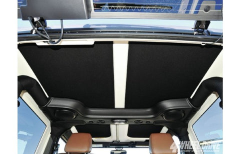 JK 2007-2010 2 Door Headliner Including Side Panels (BLACK)