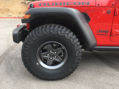 AEV PINTLER JL WRANGLER WHEEL Matte Black