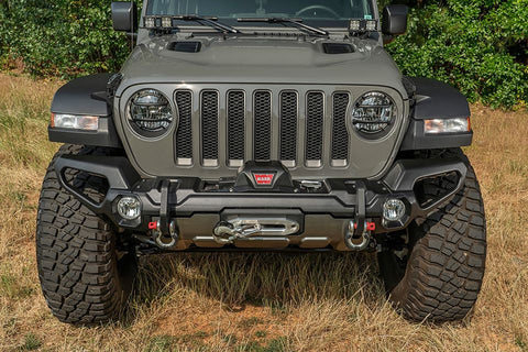 Rugged Ridge 11549.42 Venator Front recovery Bumper for 18-20 Jeep Wrangler JL & Gladiator JT