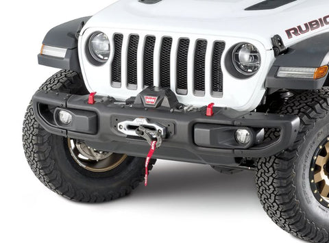 WARN 101255 Winch Mount Plate for 18-20 Jeep Wrangler JL with Factory Steel Bumper