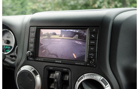 AEV Rear Vision System for OE Navigation