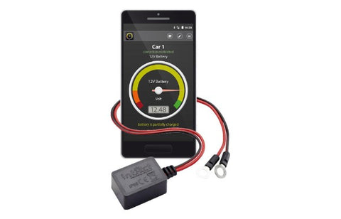 Battery monitoring guard via bluetooth