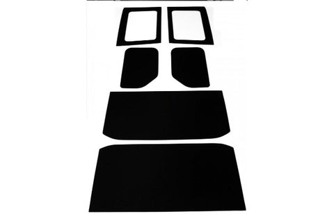 JK 2007-2010 4 Door Headliner Including Side Panels (BLACK)