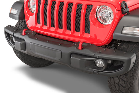 Mopar 82215121AB 3 Piece Rubicon Front Bumper for 18-20 Jeep Wrangler JL & Gladiator JT