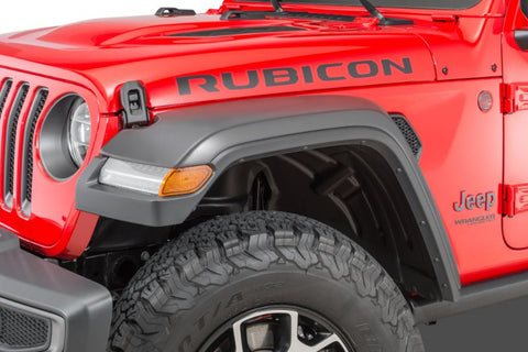 Mopar High Top Fender Flares for 18-20 Jeep Wrangler JL 4 door LED VERSION