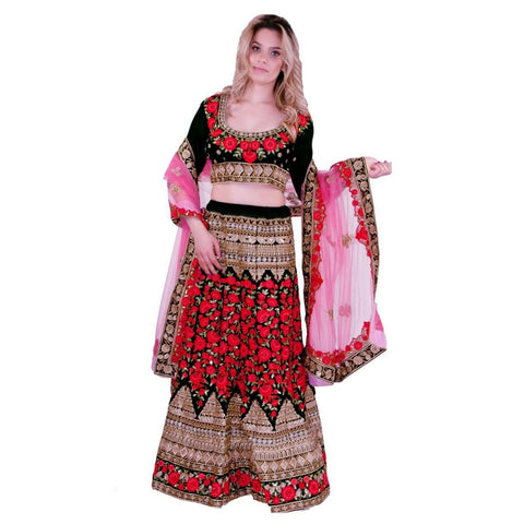 Finely detailed lehenga dress - Chiro's By Jigyasa
