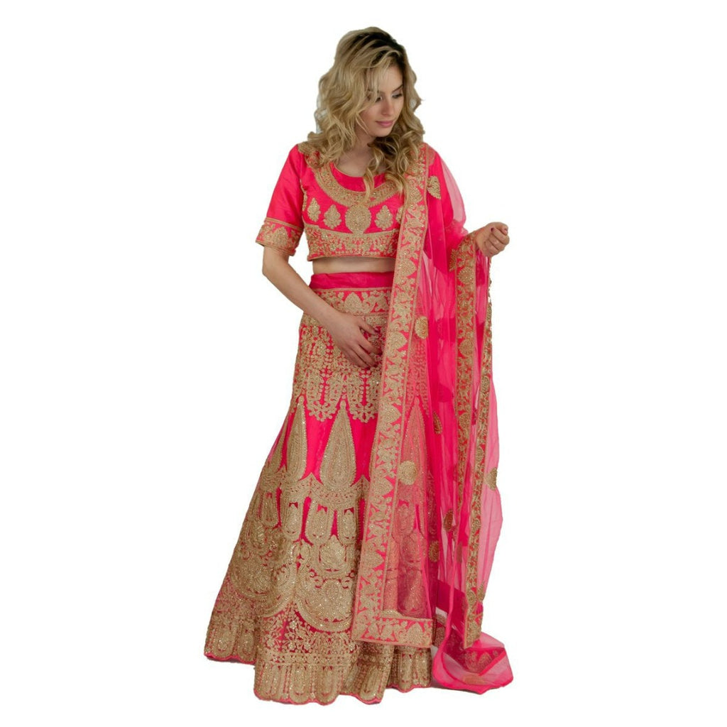 Must have beautiful lehenga - Pink - Chiro's By Jigyasa