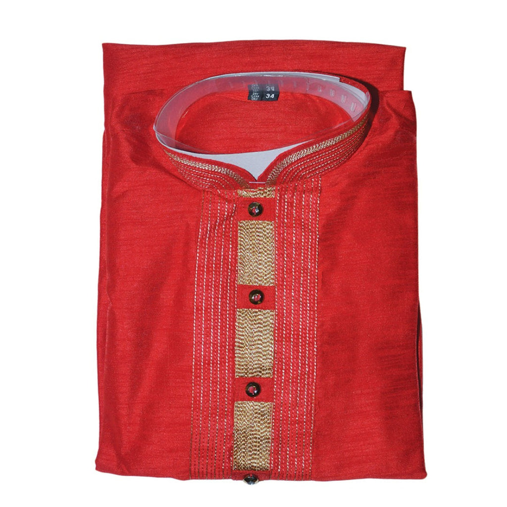 Mens kurta maroon Color