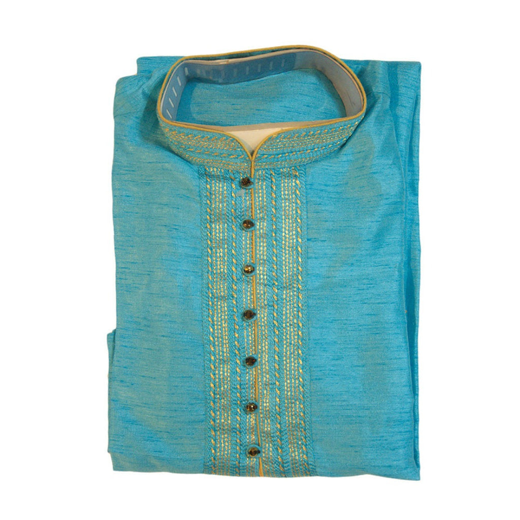 Festive Blue Color men's Kurta
