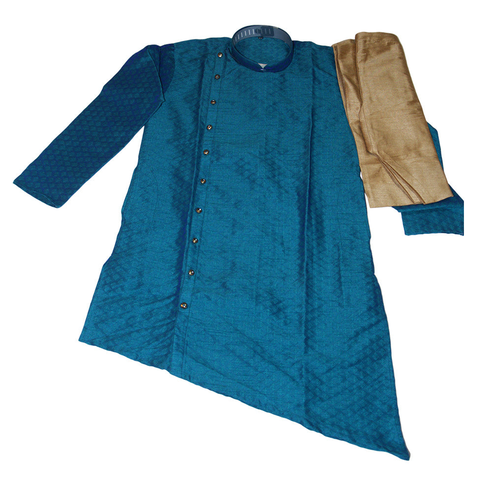 Silk Kurta Blue.