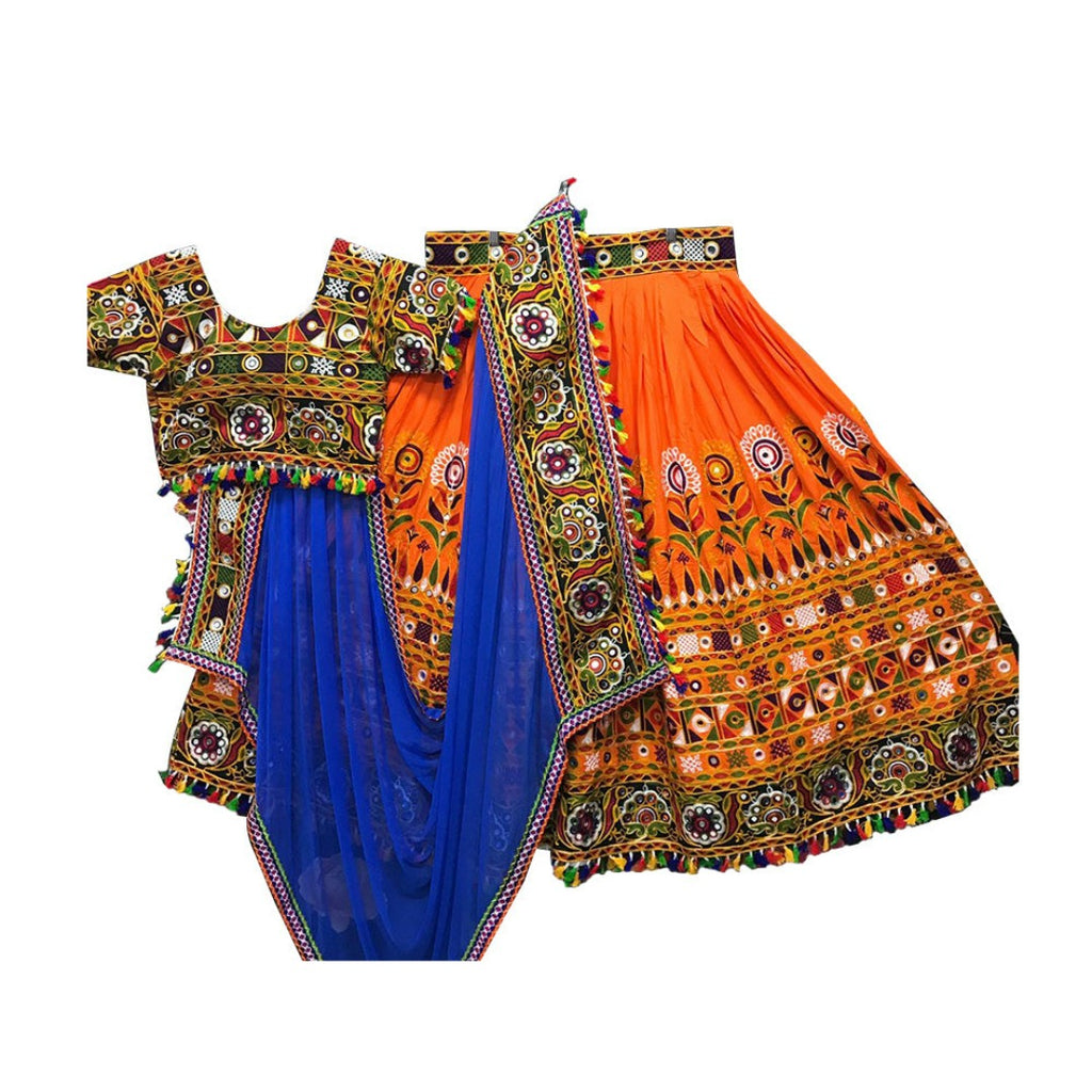 Traditional Chania Choli all over embroidery