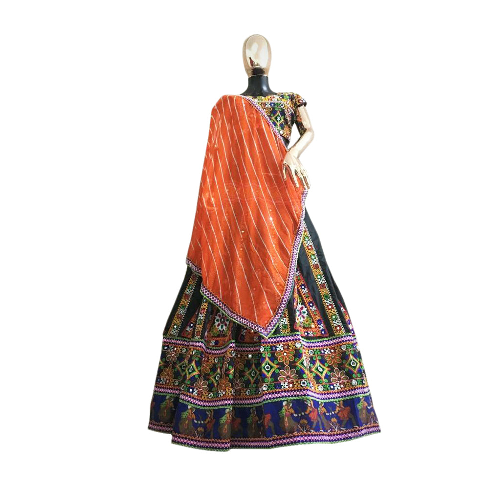 Multicolor  festive  Chania Choli