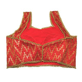 Contemporary red sleeveless  Blouse