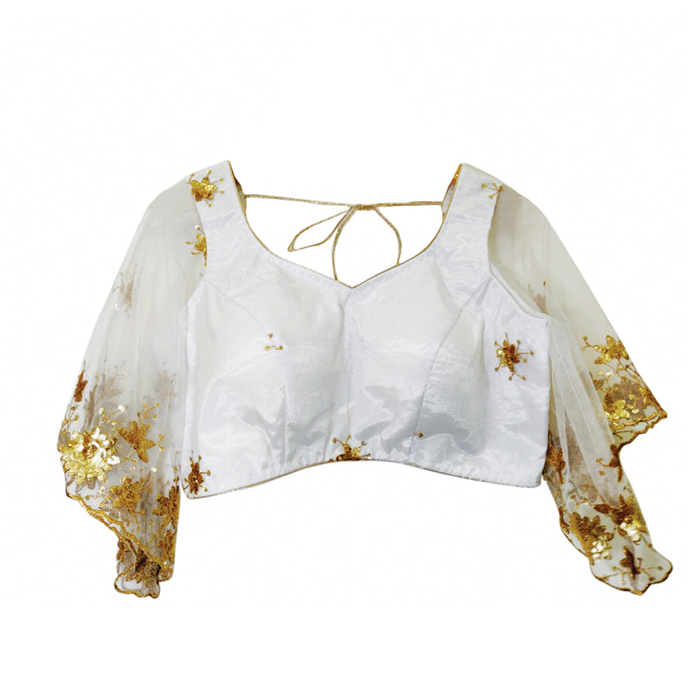 White  contemporary Blouse