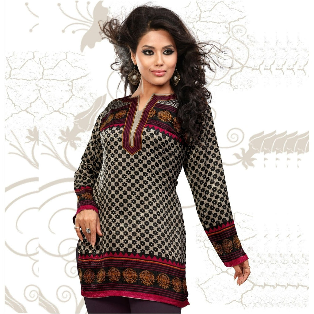 Long sleeve tunic for women - Chiro's By Jigyasa