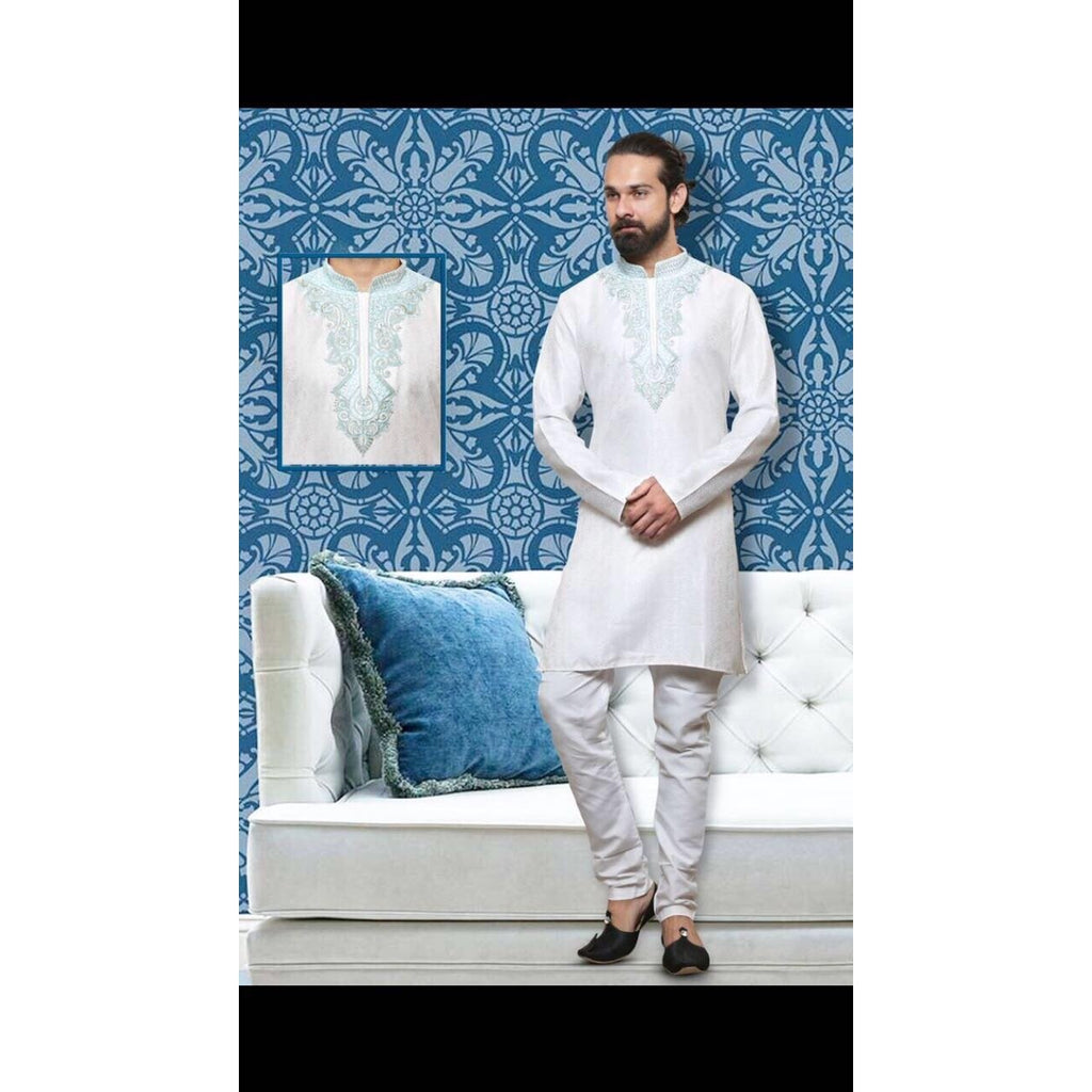 Ethnic wear Kurta Pyjama for men - Chiro's By Jigyasa