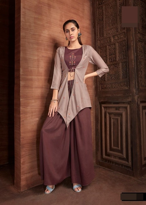 Look unique in this Stylish Contemporary  indian dress