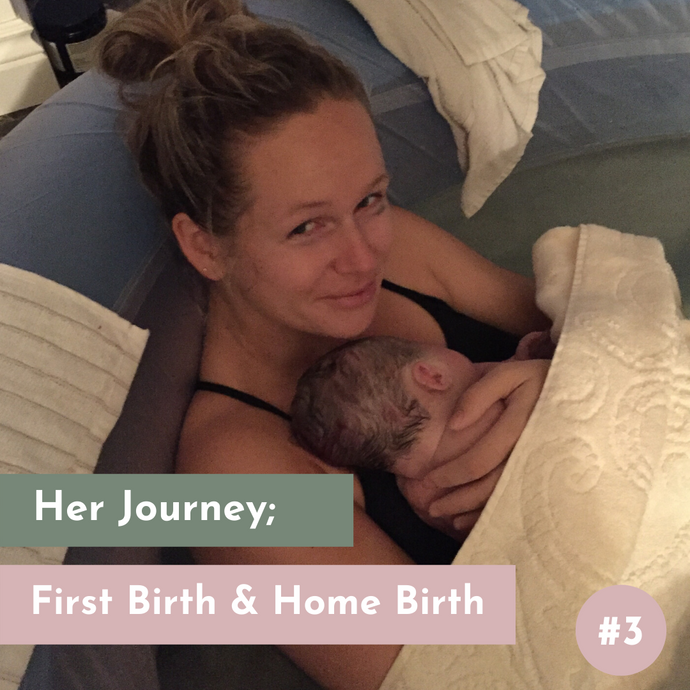 Jamie's First Birth & Home Birth