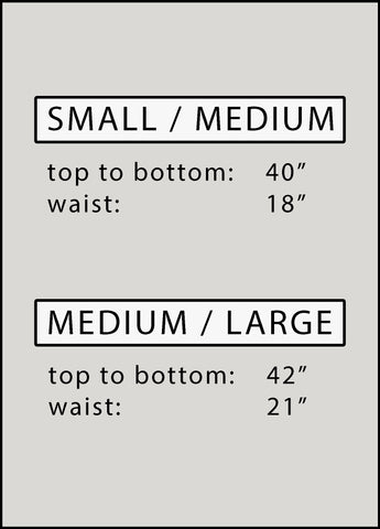 womens gown sizing chart
