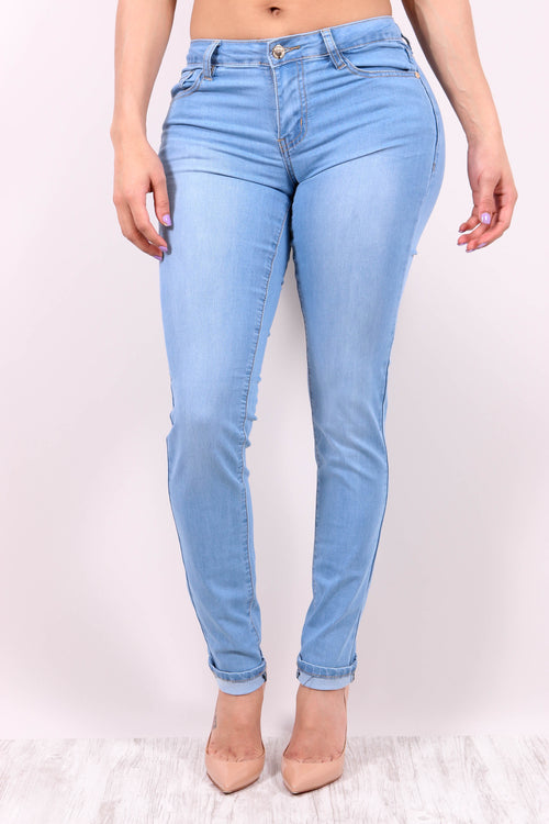 DENIM DAYS (LIGHT WASH) - Karma Couture Boutique