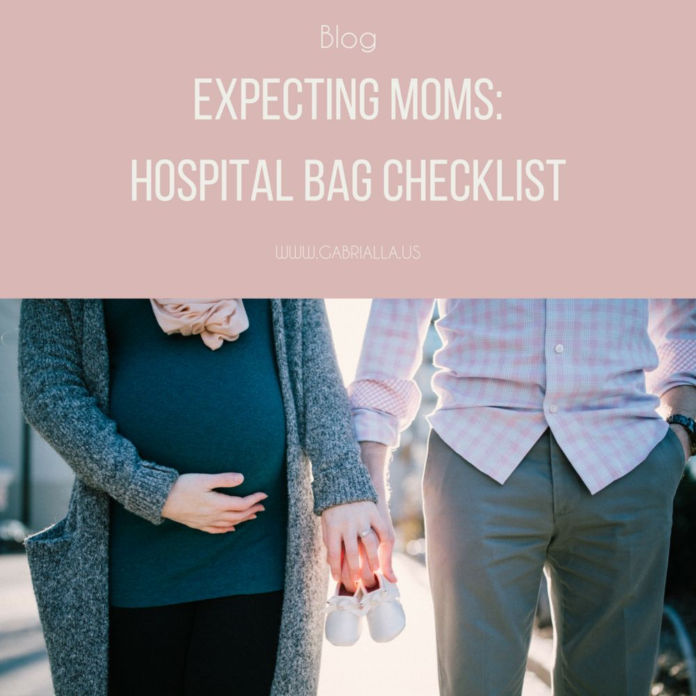 Expecting Moms: Hospital Bag Checklist