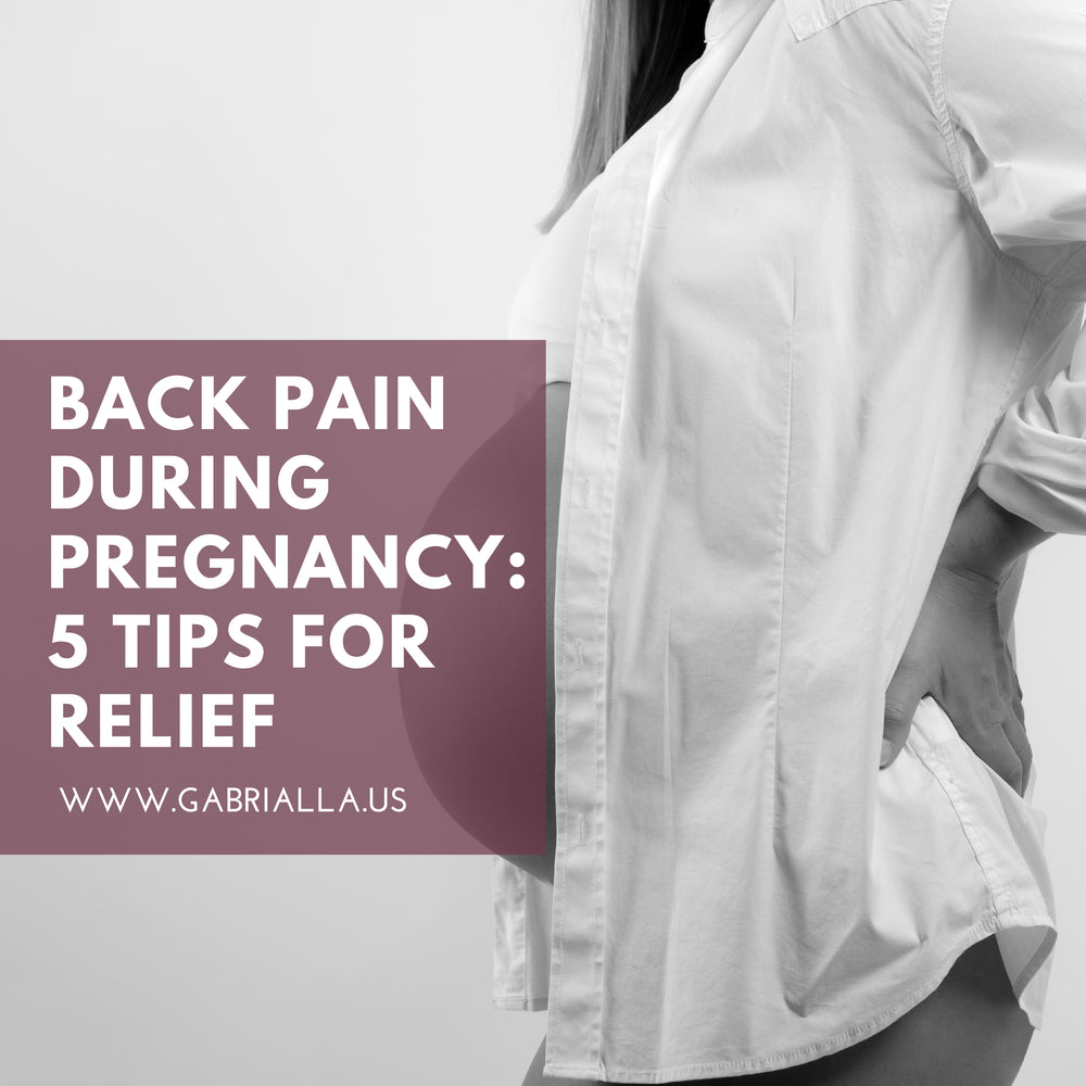 Back Pain During Pregnancy: 5 Tips for Relief