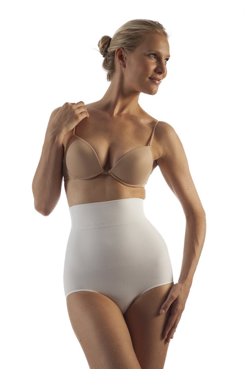 GABRIALLA Body Shaping Briefs - Seamless, High Waist, Milk Protein Fiber (BSM-710) - Gabrialla