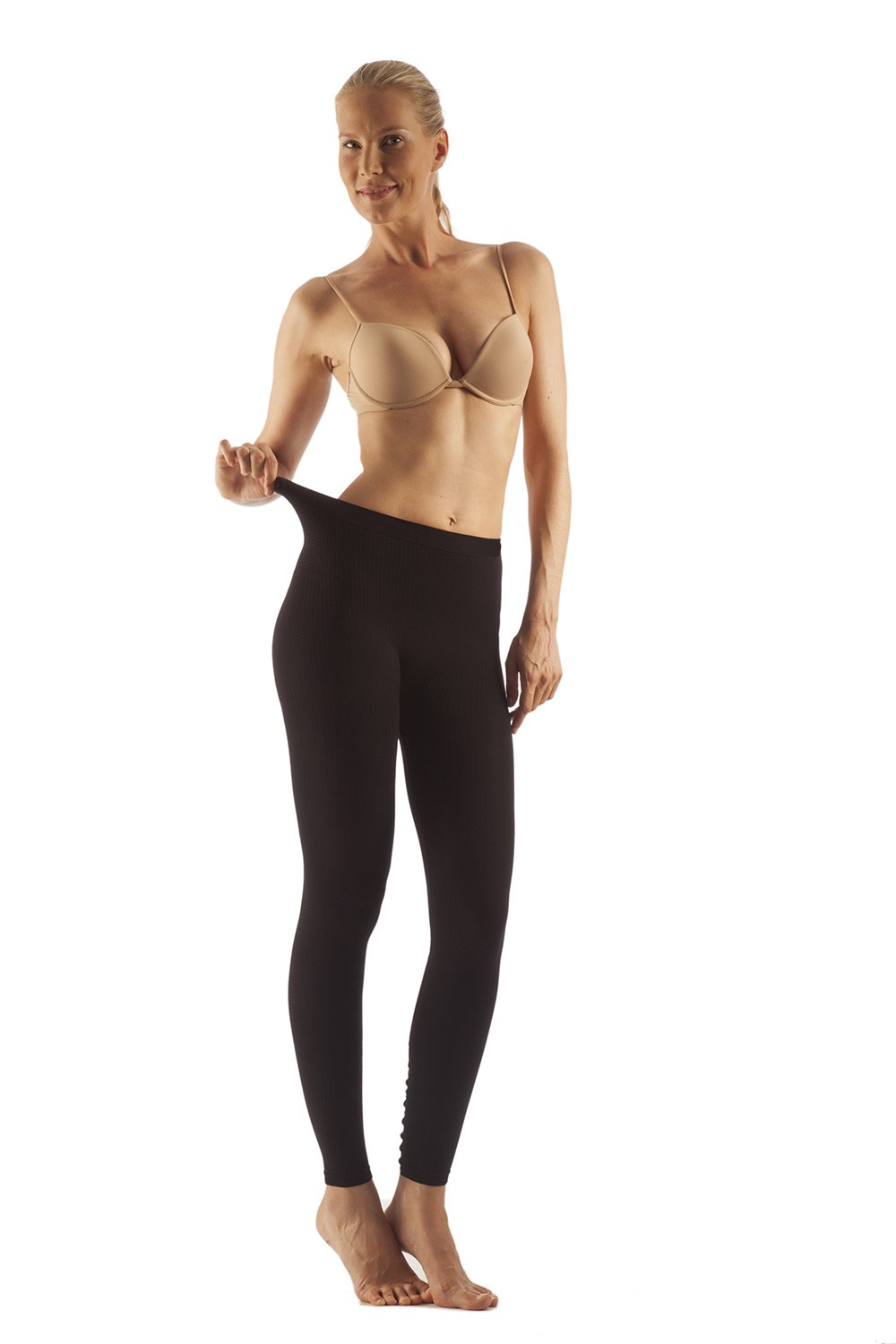 Slimming Massaging Leggings - Anti-Microbial, Milk Protein Fiber (LM-701)
