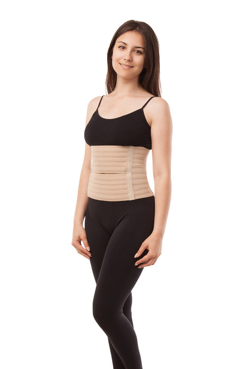 "9"" Abdominal Binder - Breathable Medium Support (AB-309) - Gabrialla"