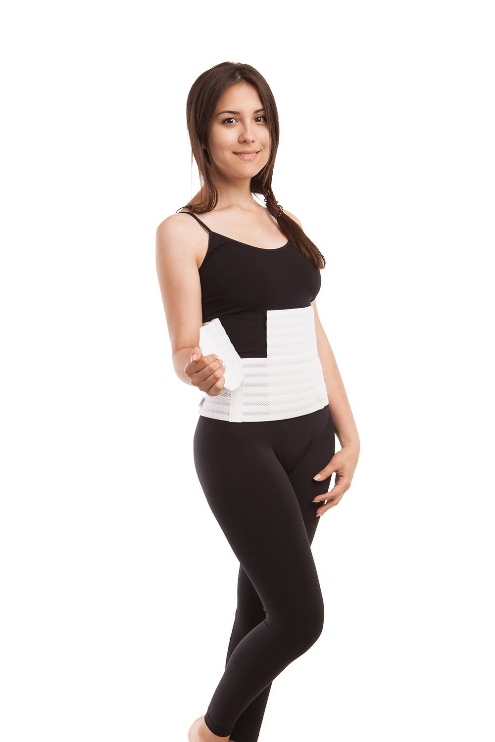 Abdominal Binder - Breathable Medium Support 9 inches - Gabrialla