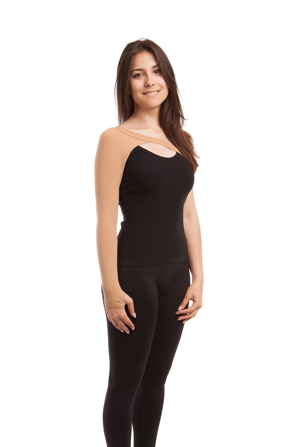 Post-Mastectomy Compression Arm Sleeve (PMS-805) - Gabrialla