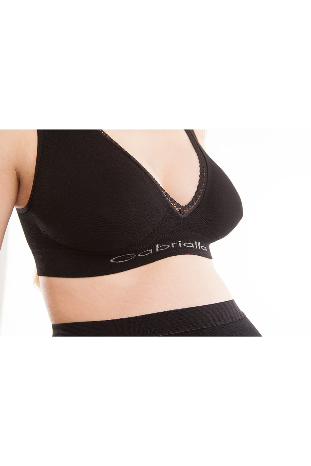 1e12905c07d Nursing Sleeping Athletic Bra - Seamless – Gabrialla